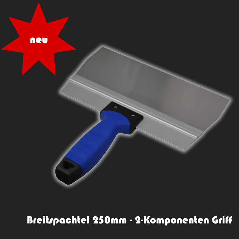 Breitspachtel 250mm - 2-Komponenten Griff