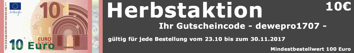 10 € Gutschein Aktion November 2017