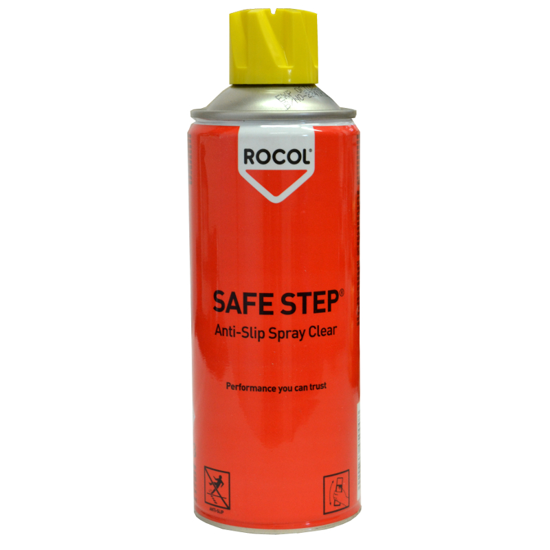 safe step antirutsch spray 400ml 62 l rutschspray rocol rs45000 anti rutsch ebay. Black Bedroom Furniture Sets. Home Design Ideas