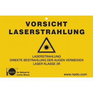 Nedo Laserwarnschild