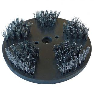 Stahlbürste mittel 200mm mit verschiedenen Anwendungsmöglichkeiten