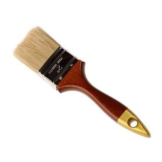Englischer Flachpinsel - Holzgriff Gr.: 50mm