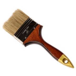 Englischer Flachpinsel - Holzgriff Gr.: 76mm