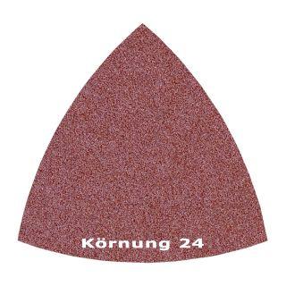 25 x Delta Klett Schleifblatt C24 - 82mm