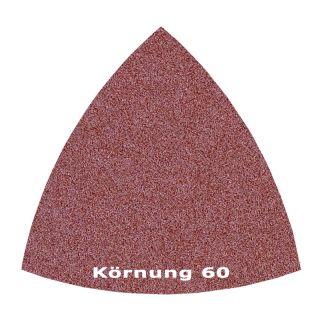 50 x Delta Klett Schleifblatt C60 - 82mm
