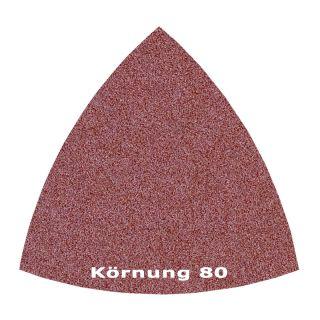 50 x Delta Klett Schleifblatt C80 - 82mm