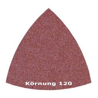50 x Delta Klett Schleifblatt C120 - 82mm