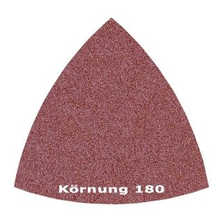 50 x Delta Klett Schleifblatt C180 - 82mm