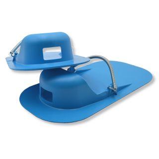 x-tools Glättschuhe PVC blau