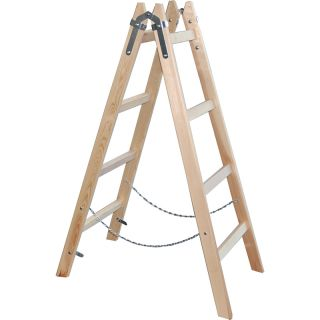 x-tools Holzleiter130cm - 4 Sprossen