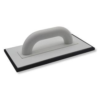 Fugbrett Zellkautschuck schwarz - Trägerbrett aus Polystyrol gefertig2t- 8mm Zellgummibelag- 280x140mm- Farbe: schwarz