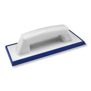 Fugbrett 240x95- geeignet für Epoxid-Fugmasse - hochflexibler und säurebeständiger Feingummibelag- Kanten abgeschrägt- geschlossener Handgriff- 240x95mm