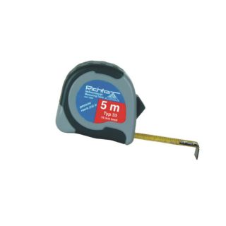 Richter Taschenrollbandmaß 5m - inches/mm