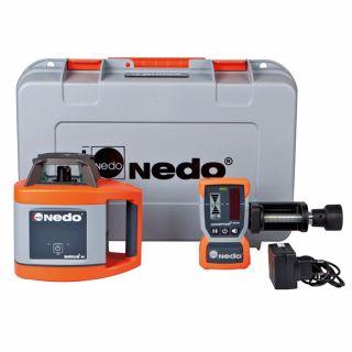 Nedo Rotationslaser Sirius1 H Set mit 'Acceptor2 mit HD-Klammer' - 3R