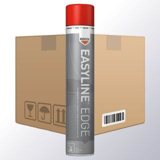 Easyline EDGE Linienmarkierungsspray rot VPE6