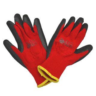 Latex-Acryl Arbeitshandschuh Finger Grösse L