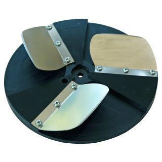 Schaber-Scheiben zum Entfernen von Tapeten, auch zur Schalungsreinigung oder andere Schabearbeiten