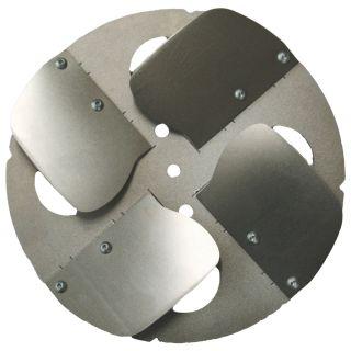 Glätteteller mit Stahlklingen - Zum Glätten von Beton und anderen glättfähigen Oberflächen