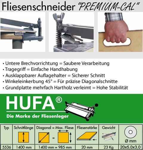 HUFA-Schneidhexe Fliesenschneider 1000 c-AL