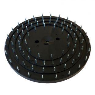 Kratzscheiben Ø 200 mm mit verschiedenen Anwendungsmöglichkeiten