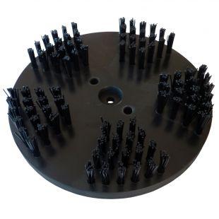 Nylonbürste Ø 200 mm mit verschiedenen Anwendungsmöglichkeiten