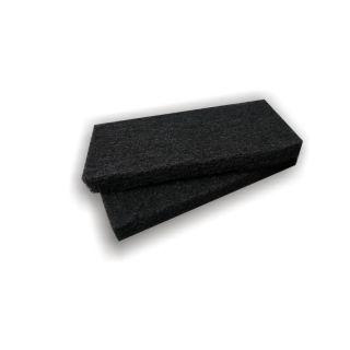 - grobe Pad-Auflage (schwarz)- 250x120mm- Menge: 2