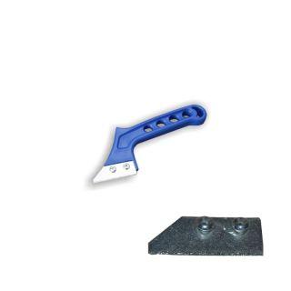 Fugenkratzer (HM) - 50mm inkl. Ersatzklinge - Klingenbreite 50mm- Klinge Hartmetall- Handgriff aus Kunststoff- inkl. Ersatzklinge (1411)