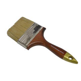 Englischer Flachpinsel - Holzgriff Gr.: 102mm