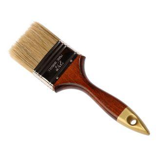 Englischer Flachpinsel - Holzgriff Gr.: 63mm