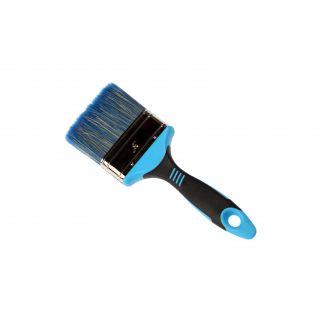 Flachpinsel für Dispersionsfarben-2-Komp.griff - 76mm