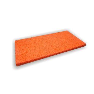 Ersatzauflage Schwammgummi orange
