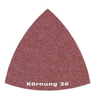 25 x Delta Klett Schleifblatt C36 - 82mm