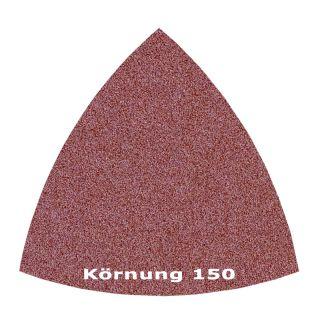 50 x Delta Klett Schleifblatt C150 - 82mm