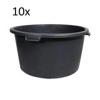 10 x Mörtelkübel rund 90 Liter