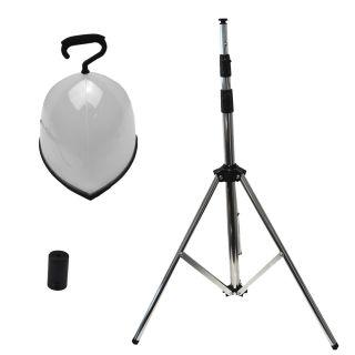 Triplex LED 360° Baustrahler - 6500 K + Stativ + Adapter
