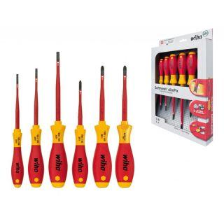 Schraubendreher Set SoftFinish® electric slimFix