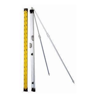 Nedo Präzisions-Invarlatte 2m, Teilung 15a, Standard Lattenschuh