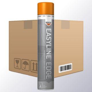 Easyline EDGE Linienmarkierungsspray orange VPE6