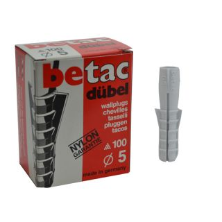 100 x betac Normaldübel - 5x25mm