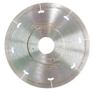 Diamanttrennscheibe - Ø 125 mm Fliesen Dünnwandtechnik