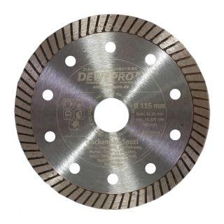 Dewepro-Diamanttrennscheibe - Ø 115 mm Trockenbau Spezi