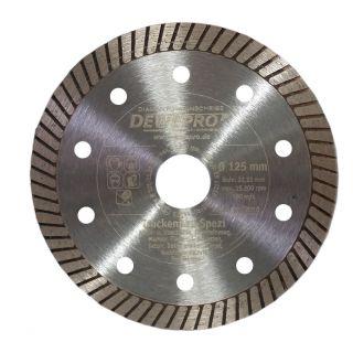 Dewepro-Diamanttrennscheibe - Ø 125 mm Trockenbau Spezi