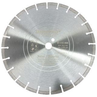 Diamanttrennscheibe - Ø 115 mm Beton Universal