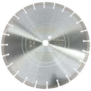 Dewepro Diamanttrennscheibe - Ø 350 mm Beton Universal