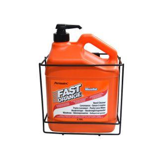 Set: Fast Orange Kanister 3,78 Liter + Passender Wandhalter
