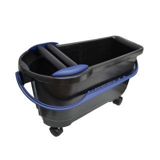 HUFA Profi-Clean Waschbox 24l inkl. Räder + Doppelrollen geschlossen