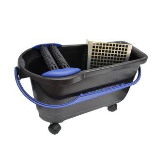 HUFA Profi-Clean Waschbox 24l Räder Doppelrollen gelocht