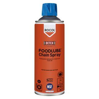 Mehrzweck-Schmieröl für alle Antriebsund Förderbandketten in allen sauberen Industrien - Inhalt: Spraydose: 400ml