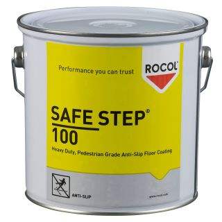 SAFE STEP 100 ist eine rutschfeste Bodenbeschichtung aus Epoxidester