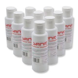 10 x SANIT AquaDecon® Handhygiene 50ml